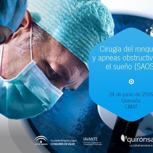 Curso de cirugía experimental: cirugía del ronquido y la apnea (SAOS)